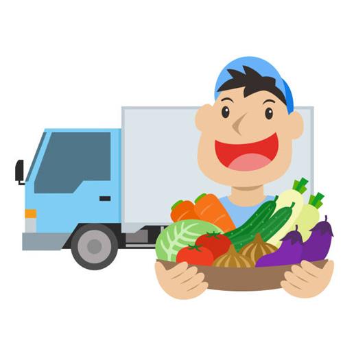 Mise en place d'un portage de courses alimentaires à domicile