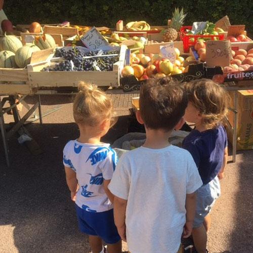 A la découverte du marché de Villefranche-sur-Mer